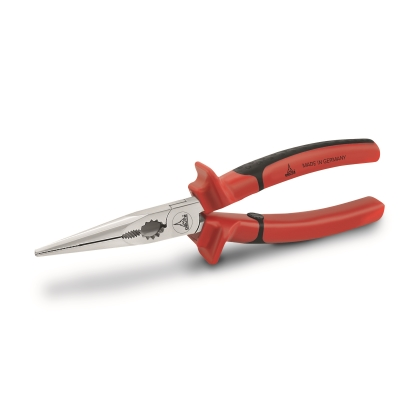 Flat nose pliers, ISO 5745, straight